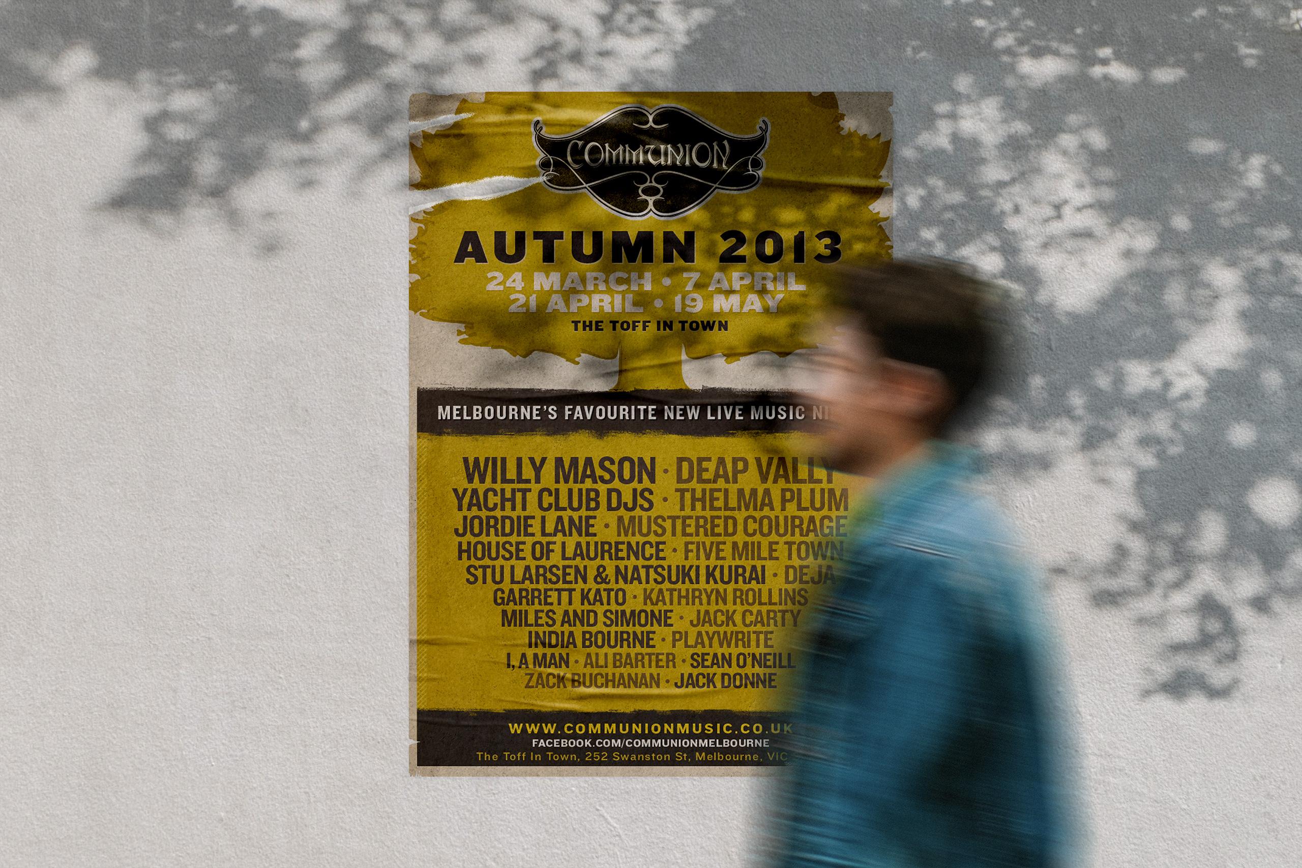 Communion Street Poster